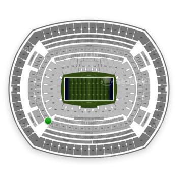 New York Giants at MetLife Stadium 245 A View