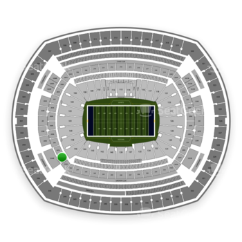 New York Giants at MetLife Stadium 246 A View