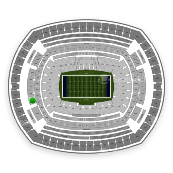 New York Giants at MetLife Stadium 249 B View