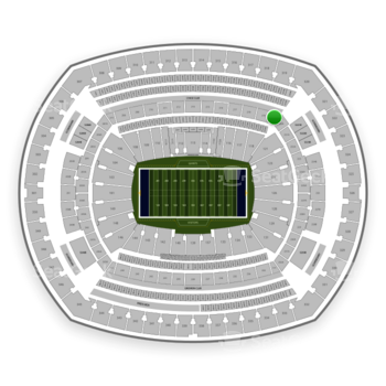 New York Giants at MetLife Stadium Section 220 C View