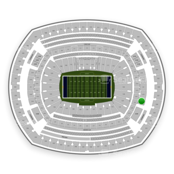 New York Giants at MetLife Stadium Section 228 B View