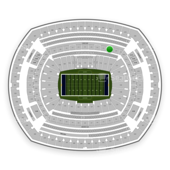 New York Giants at MetLife Stadium Section 218 View