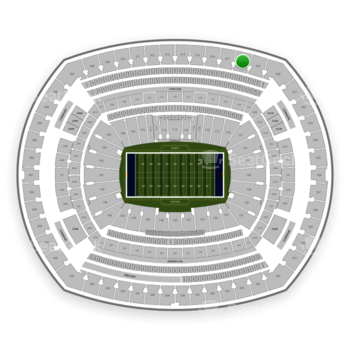 New York Giants at MetLife Stadium Section 318 View