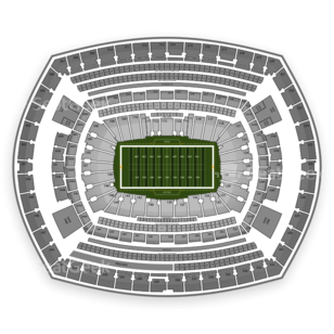 MetLife Stadium Seating Chart NCAA Football