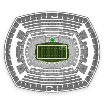 NFL at MetLife Stadium Section 113 View