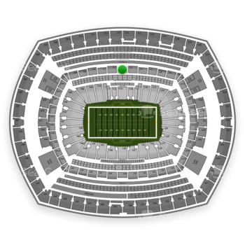 NFL at MetLife Stadium Section 213 View