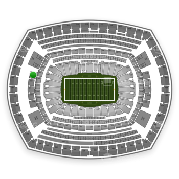 New York Giants at MetLife Stadium 203 B View