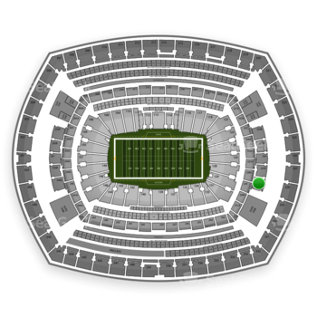 New York Giants at MetLife Stadium 228 B View