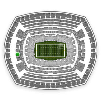 New York Giants at MetLife Stadium 250 B View