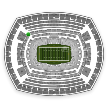 New York Jets at MetLife Stadium 207 A View