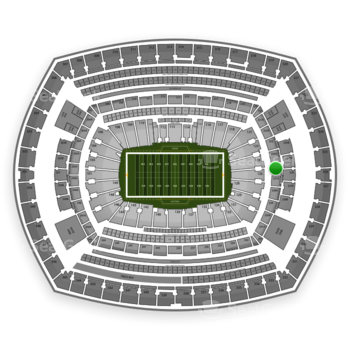 New York Jets at MetLife Stadium 225 A View