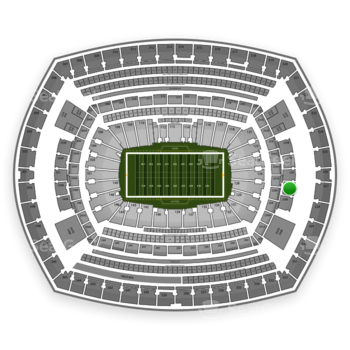 New York Jets at MetLife Stadium 227 B View