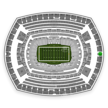 New York Jets at MetLife Stadium Section 326 View
