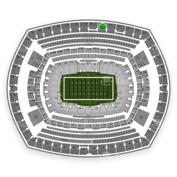 NFL at MetLife Stadium Section 315 View