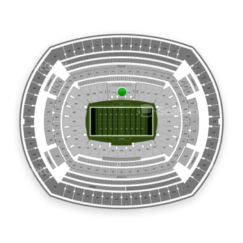 New York Jets at MetLife Stadium Section 113 View