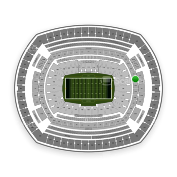 New York Jets at MetLife Stadium 224 A View