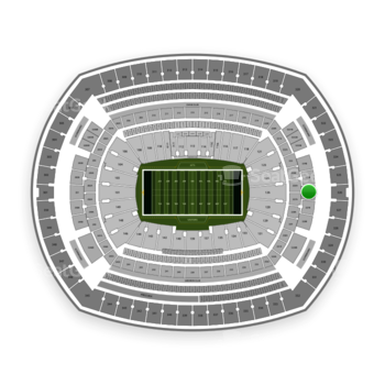 New York Jets at MetLife Stadium Section 226 View