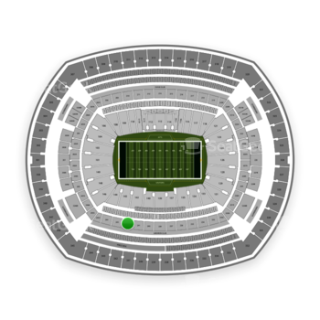 New York Jets at MetLife Stadium Section 242 View
