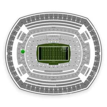 New York Jets at MetLife Stadium 202 A View