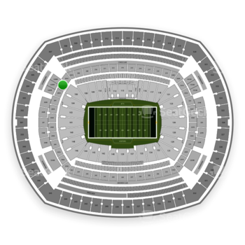 New York Jets at MetLife Stadium 206 A View