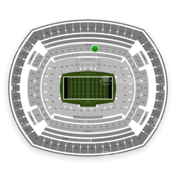 New York Jets at MetLife Stadium Section 215 View