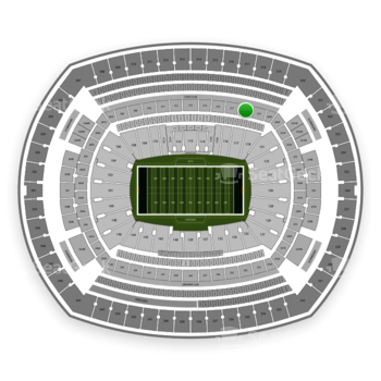 New York Jets at MetLife Stadium Section 218 View
