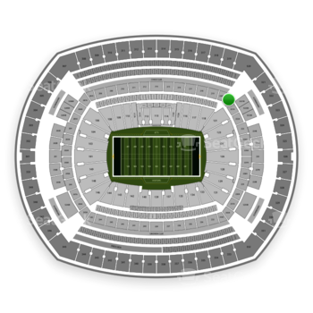 New York Jets at MetLife Stadium 220 A View