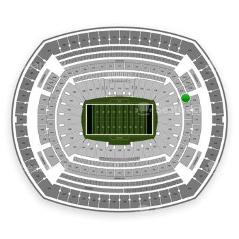 New York Jets at MetLife Stadium Section 223 View
