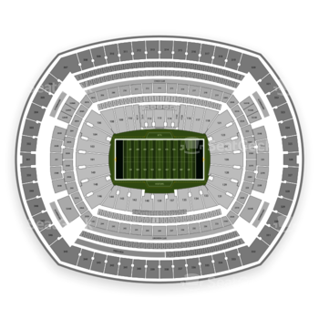 New York Jets at MetLife Stadium 229 A View