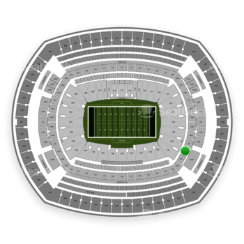 New York Jets at MetLife Stadium 230 A View