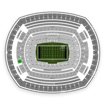 New York Jets at MetLife Stadium 249 B View