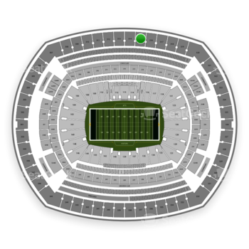 New York Jets at MetLife Stadium Section 315 View