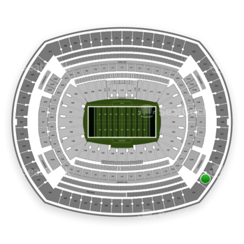 New York Jets at MetLife Stadium Section 331 View