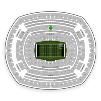 New York Jets at MetLife Stadium Section 213 View