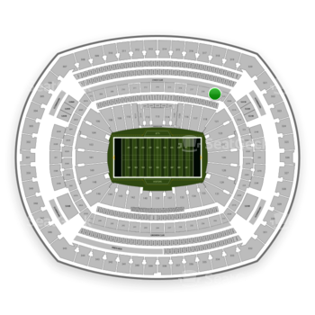 New York Jets at MetLife Stadium Section 219 View