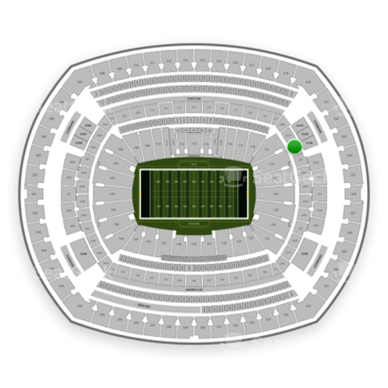 New York Jets at MetLife Stadium 222 A View