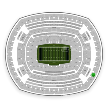 New York Jets at MetLife Stadium Section 330 View