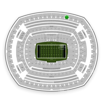 New York Jets at MetLife Stadium Section 317 View