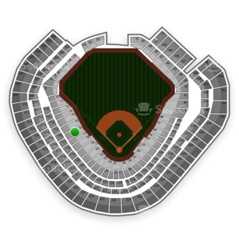 Texas Rangers at Globe Life Park Section 16 View