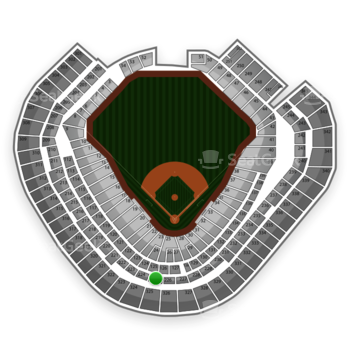 Texas Rangers at Globe Life Park Section 225 View