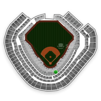 Texas Rangers at Globe Life Park Section 29 View