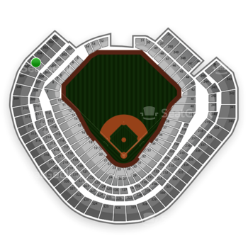 Texas Rangers at Globe Life Park Section 305 View
