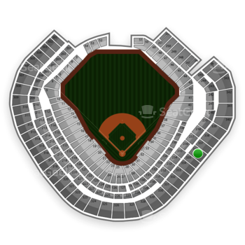 Texas Rangers at Globe Life Park Section 336 View