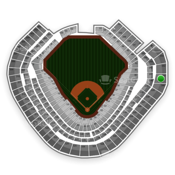 Texas Rangers at Globe Life Park Section 341 View