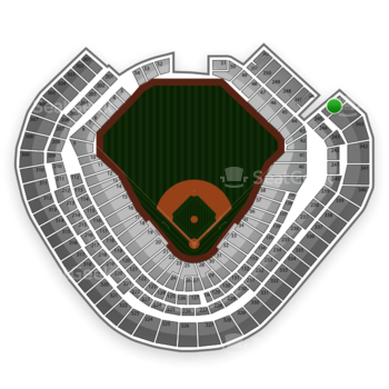 Texas Rangers at Globe Life Park Section 345 View