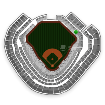 Texas Rangers at Globe Life Park Section 45 View