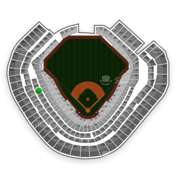 Texas Rangers at Globe Life Park Section 114 View