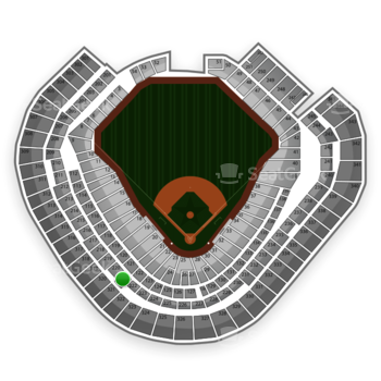 Texas Rangers at Globe Life Park Section 221 View