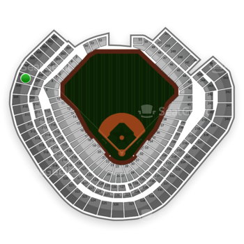 Texas Rangers at Globe Life Park Section 307 View