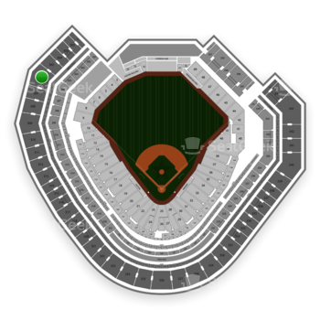 NHL at Globe Life Park Section 306 View